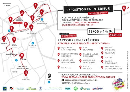 Expo Photos - parcours dans la ville