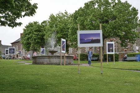Expositions extérieures dans la ville